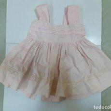 Vestidos Muñeca Española Clásica: VESTIDO ROSA CON TIRANTES (CA1081). Lote 195190663