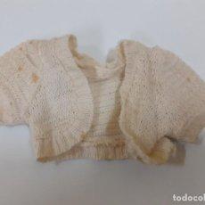Vestidos Muñeca Española Clásica: JERSEY DE PUNTO BEIGE (CA1121). Lote 195283147