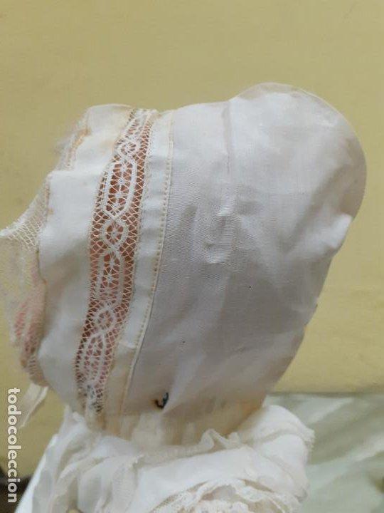 Vestidos Muñeca Española Clásica: GORRITO BEIGE ANTIGUO (1152) - Foto 2 - 195384715