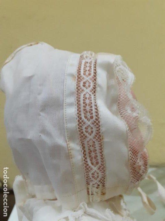 Vestidos Muñeca Española Clásica: GORRITO BEIGE ANTIGUO (1152) - Foto 4 - 195384715