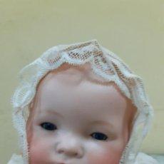Vestidos Muñeca Española Clásica: GORRITO BEIGE ANTIGUO (1152). Lote 195384715