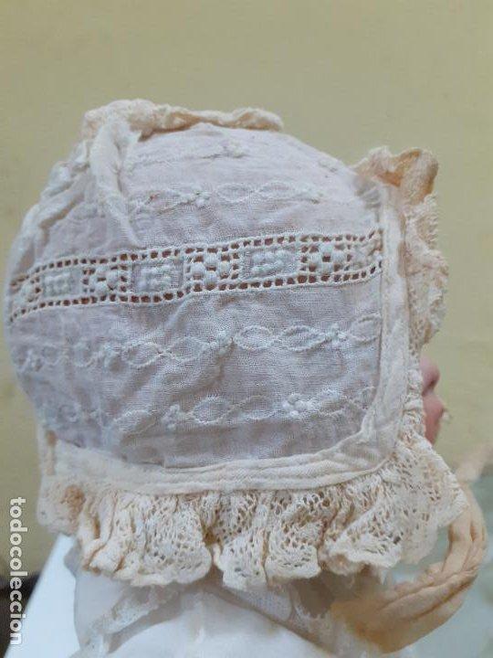 Vestidos Muñeca Española Clásica: GORRITO BEIGE ANTIGUO (1153) - Foto 4 - 195384842