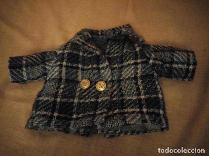 Vestidos Muñeca Española Clásica: Antiguo abrigo muñeca mariquita perez juanin,años 40 - Foto 2 - 198148563