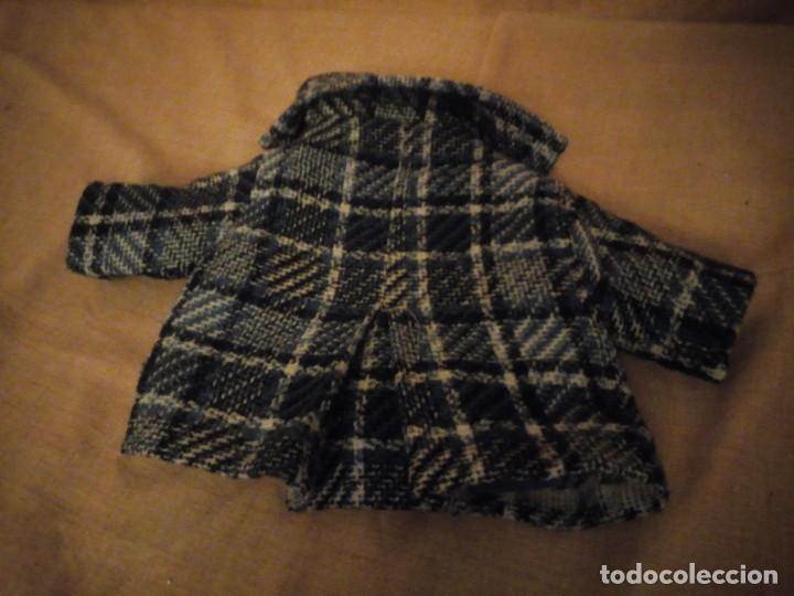 Vestidos Muñeca Española Clásica: Antiguo abrigo muñeca mariquita perez juanin,años 40 - Foto 5 - 198148563