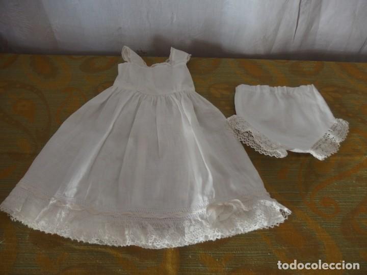 Vestidos Muñeca Española Clásica: ENAGUA Y BRAGUITA MARIQUITA PEREZ - Foto 4 - 204765496