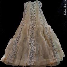Vêtements Poupée Espagnole Classique: VESTIDO CASERO MUÑECA TAMAÑO MARIQUITA PÉREZ AÑOS 60. Lote 205836097