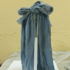 Vestidos Muñeca Española Clásica: CAPA PLISADA AZUL (1638). Lote 206837671