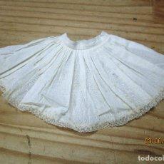 Vestidos Muñeca Española Clásica: ANTIGUAS ENAGUAS PARA MUÑECA. Lote 207029143
