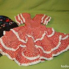 Vestidos Muñeca Española Clásica: VESTIDO SEVILLANA MARIQUITA PEREZ. Lote 208418680