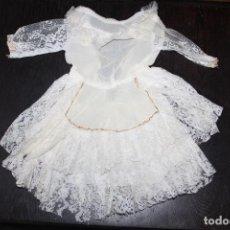 Vestidos Muñeca Española Clásica: VESTIDO TERYLENE PARA MUÑECA GRANDE (MEDIDAS VER FOTOS). Lote 211933767