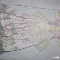 Vestidos Muñeca Española Clásica: VESTIDO TERYLENE PARA MUÑECA GRANDE (MEDIDAS VER FOTOS). Lote 211933881
