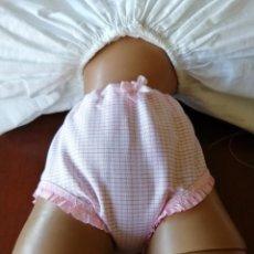 Vestidos Muñeca Española Clásica: BRAGUITA PARA MUÑECA GUENDALINA ROSA. Lote 212274091