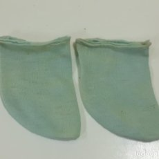 Vestidos Muñeca Española Clásica: CALCETINES AZULES (2744). Lote 218106538