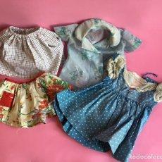 Vestidos Muñeca Española Clásica: LOTE DE ROPA PARA MUÑECA ANTIGUA. Lote 221813970