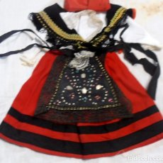 Vestidos Muñeca Española Clásica: TRAJE REGIONAL DE MUÑECA ANTIGUA,. Lote 227774570