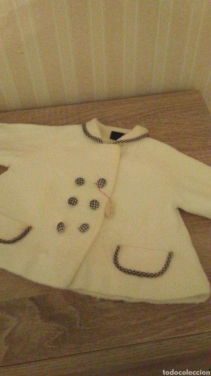 Vestidos Muñeca Española Clásica: Autentico abriguito de muñeca Telvita años 60 nuevo con etiqueta de tienda .(leer la descripcion) - Foto 2 - 230459710