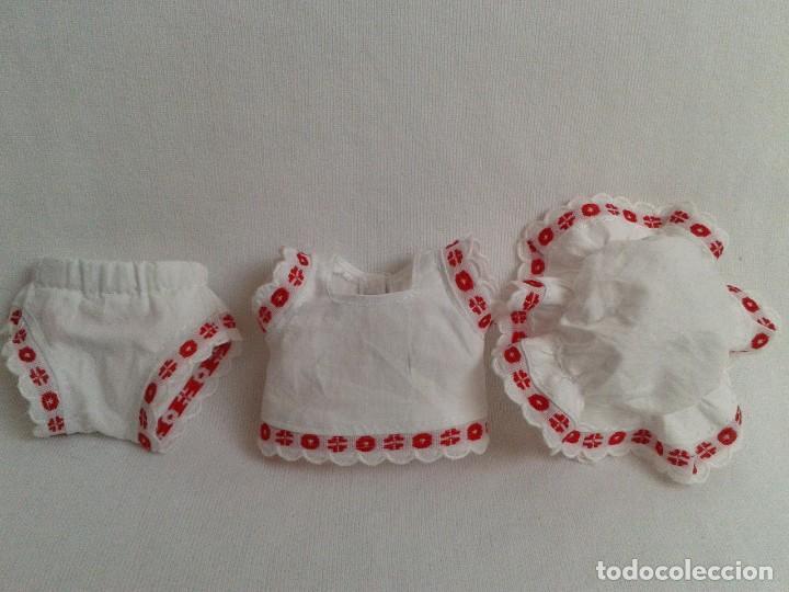 Vestidos Muñeca Española Clásica: Conjunto de ropa interior para muñeca tipo Mariquita Perez - Foto 3 - 231404820