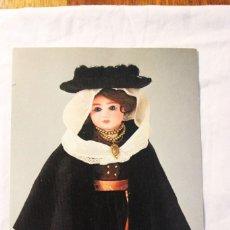 Vestidos Muñeca Española Clásica: POSTAL MUÑECAS CON TRAJES ANTIGUOS PORTUGAL. Lote 236830680