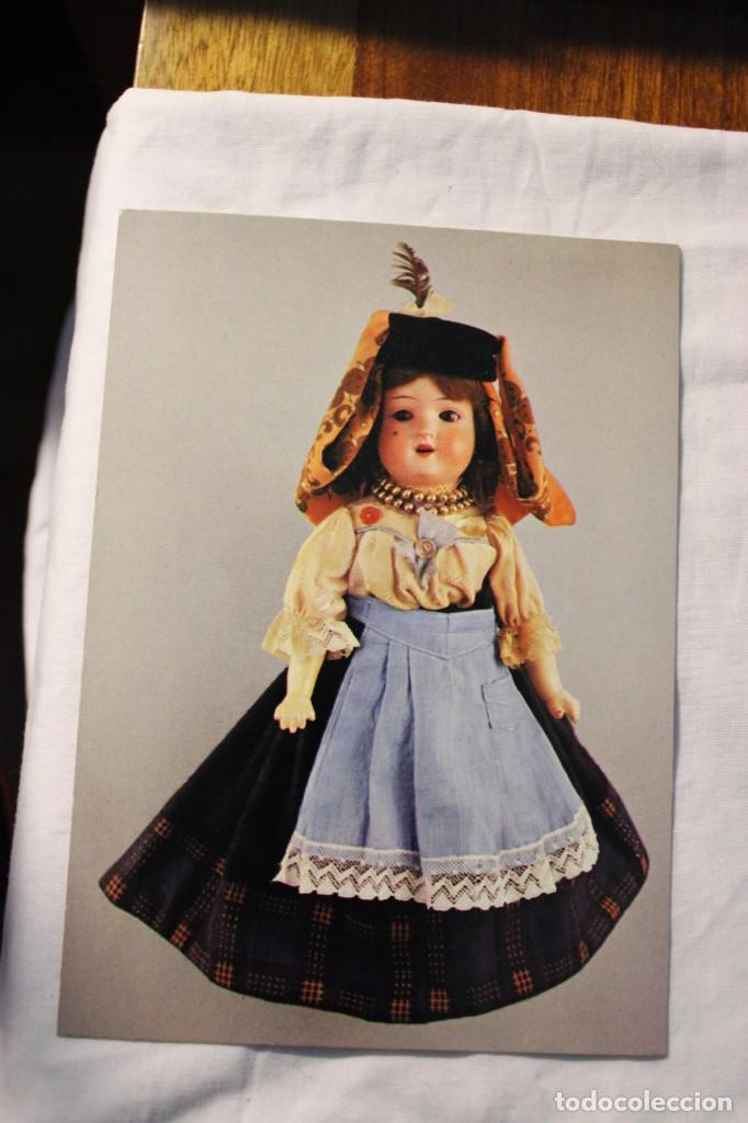 POSTAL MUÑECAS CON TRAJES ANTIGUOS PORTUGAL (Juguetes - Vestidos y Accesorios Muñeca Española Clásica (Hasta 1960) )