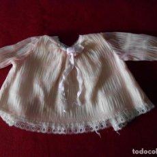 Vestidos Muñeca Española Clásica: CAMISA PLISADA CON PUNTILLA PARA MUÑECA. Lote 238121670