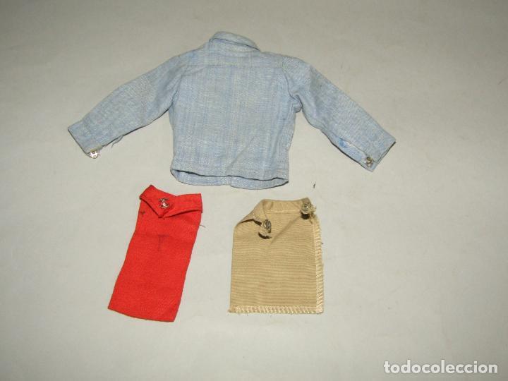 Vestidos Muñeca Española Clásica: Antigua Camisa y Pañuelos de Cuello de GI JOE y/o ACTION MAN - Foto 2 - 249365775