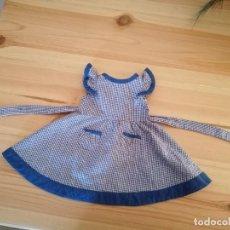 Vestidos Muñeca Española Clásica: VESTIDO ANTIGUO DE MUÑECA. Lote 260373305