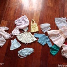 Vestidos Muñeca Española Clásica: LOTE ROPITA MUÑECA ANTIGUA. Lote 262061240