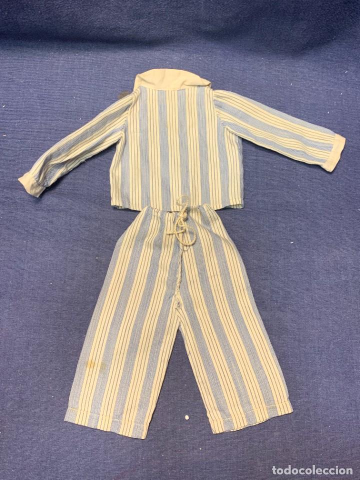 Vestidos Muñeca Española Clásica: CONJUNTO PIJAMA VESTIDO PANTALON CHAQUETA MARIQUITA PEREZ MUÑECA JUGUETE AÑOS 40 50 - Foto 2 - 270915253