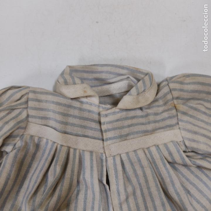 Vestidos Muñeca Española Clásica: VESTIDO AZUL Y BLANCO (4051/21) - Foto 3 - 276530553
