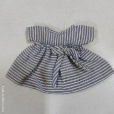 Vestidos Muñeca Española Clásica: VESTIDO MINI AZUL CON RAYAS (4063/21). Lote 276654458