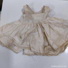 Vestidos Muñeca Española Clásica: VESTIDO BLANCO (4065/21). Lote 276654913