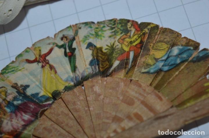 Vestidos Muñeca Española Clásica: ABANICO, ZAPATOS y pequeño BOLSO - Lote antiguo accesorios muñecas ¡Mira fotos! - Foto 7 - 286806103