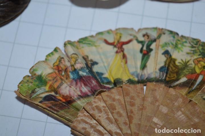 Vestidos Muñeca Española Clásica: ABANICO, ZAPATOS y pequeño BOLSO - Lote antiguo accesorios muñecas ¡Mira fotos! - Foto 8 - 286806103