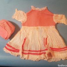 Vestidos Muñeca Española Clásica: VESTIDO DE MUÑECA ANTIGUA. Lote 289299938