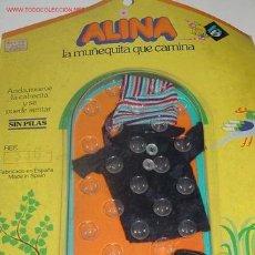Vestidos Muñecas Españolas: CONJUNTO DE LA MUÑECA ALINA , NUEVO EN BLISTER .. Lote 742852