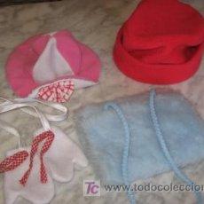 Vestidos Muñecas Españolas: LOTE DE ACCESORIOS PARA MUÑECAS. Lote 26889361