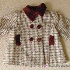 Vestidos Muñecas Españolas: ABRIGO ORIGINAL BABY MOCOSETE DE TOYSE, CON ETIQUETA Nº 6. Lote 12877258