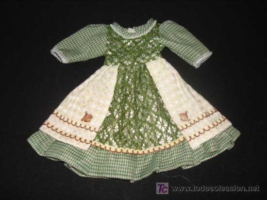 Vestido Tipo Campesina Para Muñeca Años 70 Comprar