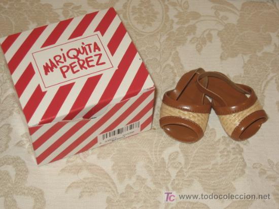 SANDALIAS DE PAJA MARIQUITA PEREZ (Juguetes - Vestidos y Accesorios Muñeca Española Moderna)