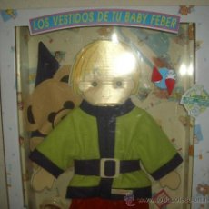 Vestidos Muñecas Españolas: TRAJE DE DAVID EL GNOMO DE BABY FEBER,TAMAÑO GRANDE,CAJA ORIGINAL,A ESTRENAR. Lote 22406941