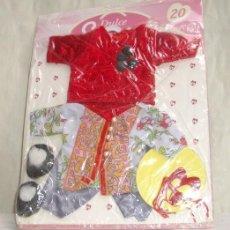 Vestidos Muñecas Españolas: DULCE EMY,CONJUNTO Nº 20,BLISTER ORIGINAL,A ESTRENAR. Lote 23943815