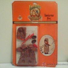 Vestidos Muñecas Españolas: VESTIDO INVIERNO DE LAURA REF-1264(MARCA TOYSE)NUEVO EN SU BLISTER.(MAS 5€ GASTOS ENVIO). Lote 52736132