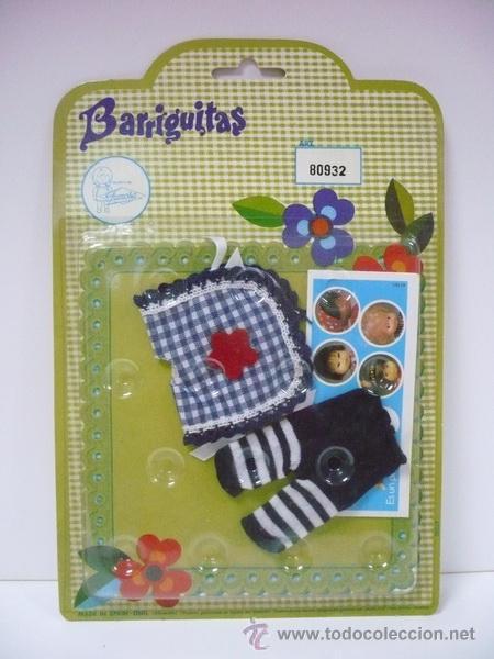 BLISTER BARRIGUITAS RF.80932 MD.LEOTARDO A RAYAS-DISPONIBLE 14 MODELOS EN BLISTER (Juguetes - Vestidos y Accesorios Muñeca Española Moderna)