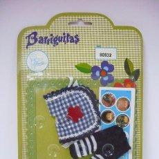 Vestidos Muñecas Españolas: BLISTER BARRIGUITAS RF.80932 MD.LEOTARDO A RAYAS-DISPONIBLE 14 MODELOS EN BLISTER. Lote 40454391