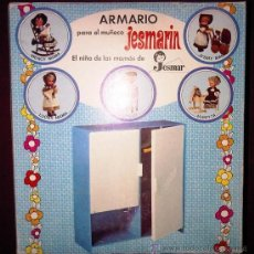 Vestidos Muñecas Españolas: ARMARIO JESMARIN DE JESMAR EN CAJA. Lote 32495081