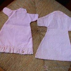 Vestidos Muñecas Españolas: DOS VESTIDOS PARA TÍTERES. Lote 35106097