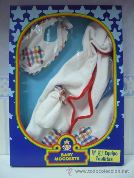 EQUIPO TOALLITAS DE MOCOSETE-TOYSE (Juguetes - Vestidos y Accesorios Muñeca Española Moderna)