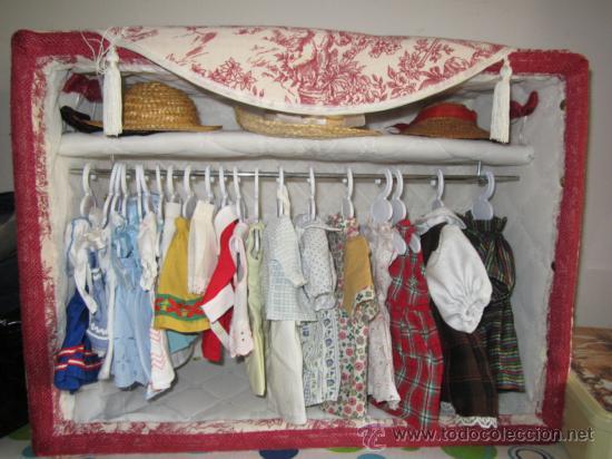 Armario Organizador Plastico ~ armario de escaparate para ropa muñecas de 30 a Comprar Vestidos y Accesorios Muñeca española