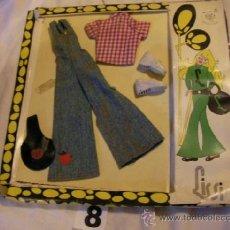 Vestidos Muñecas Españolas: ANTIGUO CONJUNTO LISSI ORIGINAL. Lote 38035813