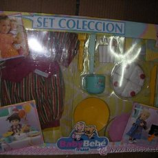 Vestidos Muñecas Españolas: SET COLECCION BABY BEBE DE FEBER - NUEVO EN SU CAJA SIN USAR. Lote 38505881